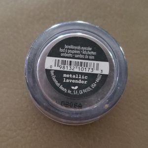 bareMinerals eye shadow in metallic lavender
